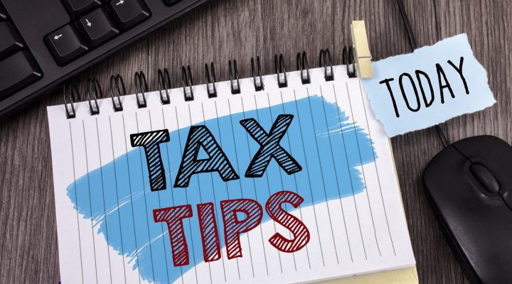 Text sign showing Tax Tips. Conceptual photo Help Ideas for taxation Increasing Earnings Reduction on expenses Concept For Information